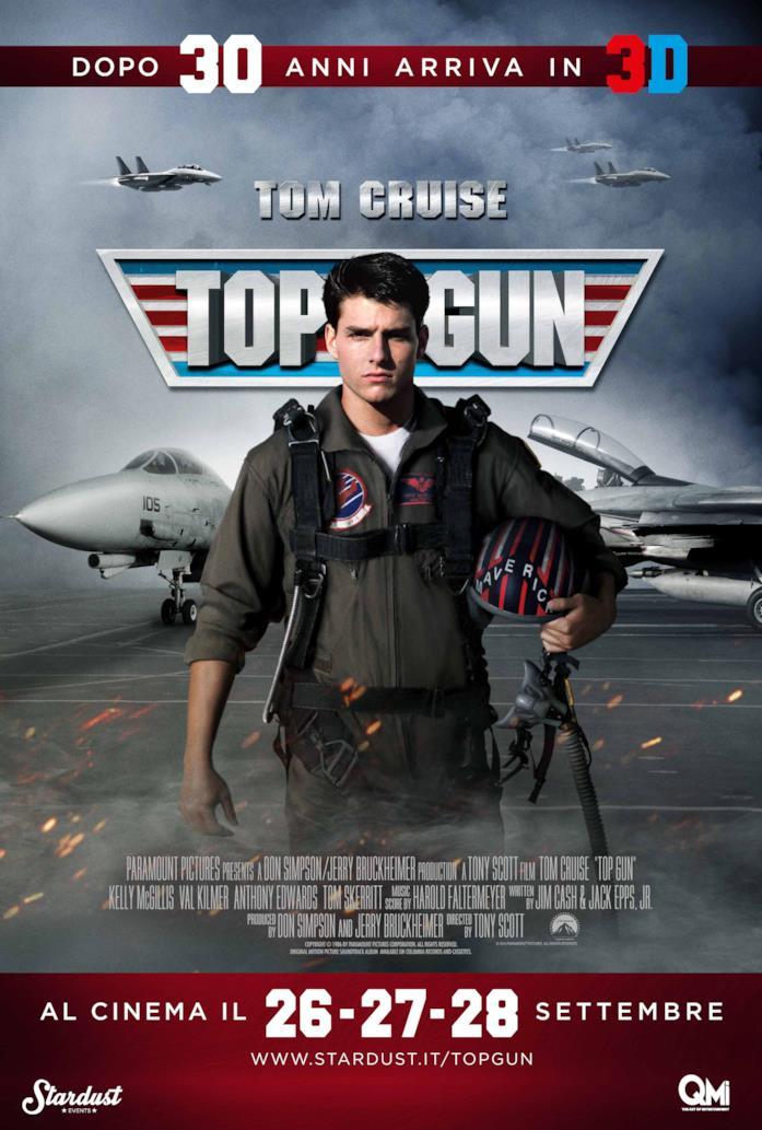 Top Gun torna a volare nelle sale in versione 3D
