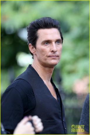 Matthew McConaughey primo piano