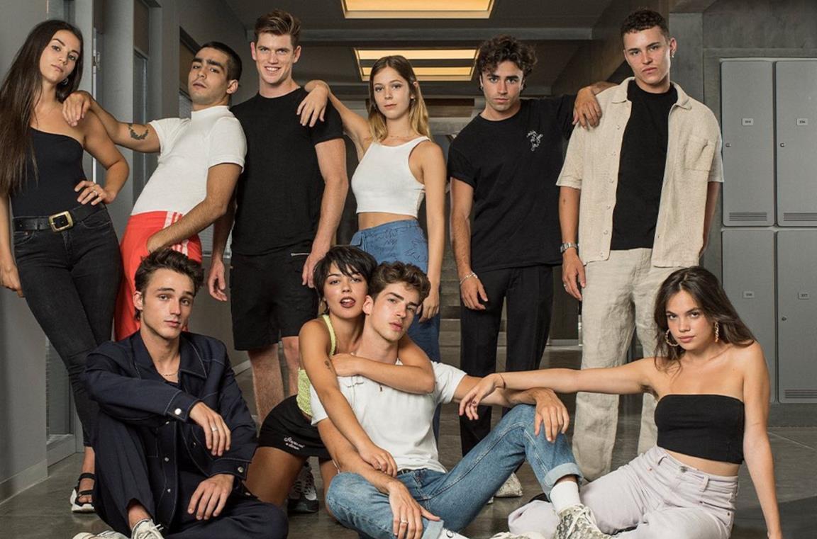 Il cast di Élite 4