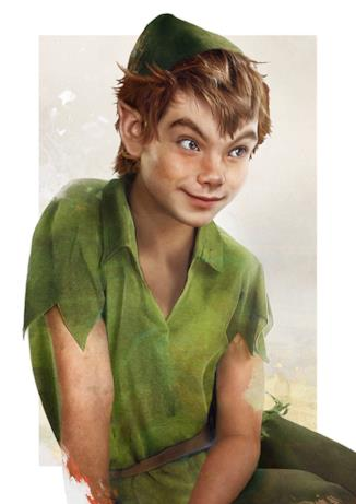 Dal cartoon Disney al mondo reale: Peter Man