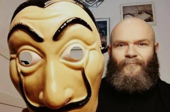 La maschera di Dalì, simbolo de La Casa di Carta
