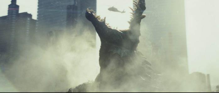 Il coccodrillo gigante di Rampage