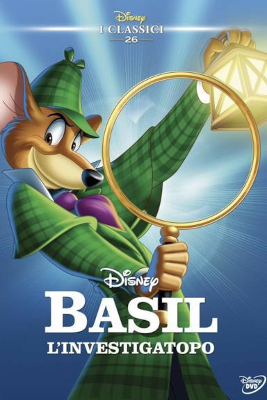 Poster Basil l'investigatopo