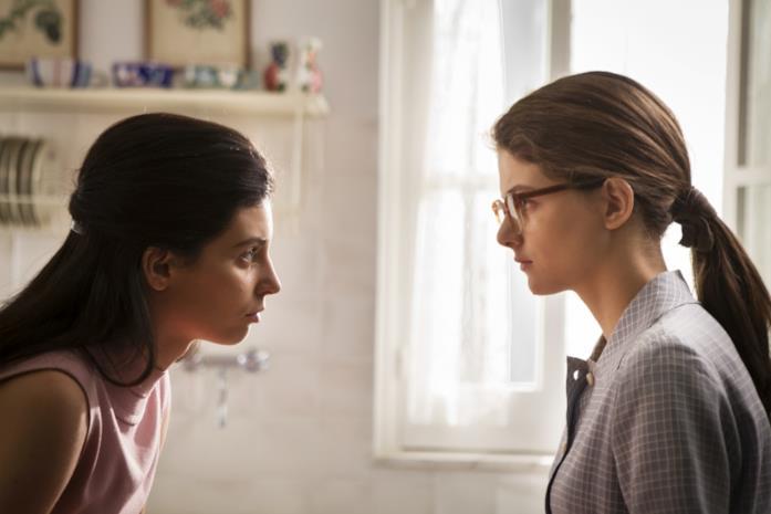 Lila e Elena in L'Amica Geniale 2