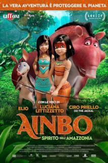 Poster Ainbo - Spirito dell'Amazzonia