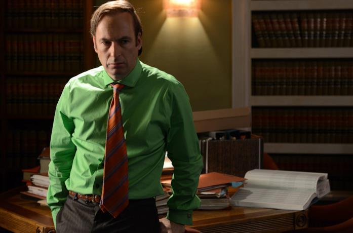 Una scena di Breaking Bad con Saul Goodman