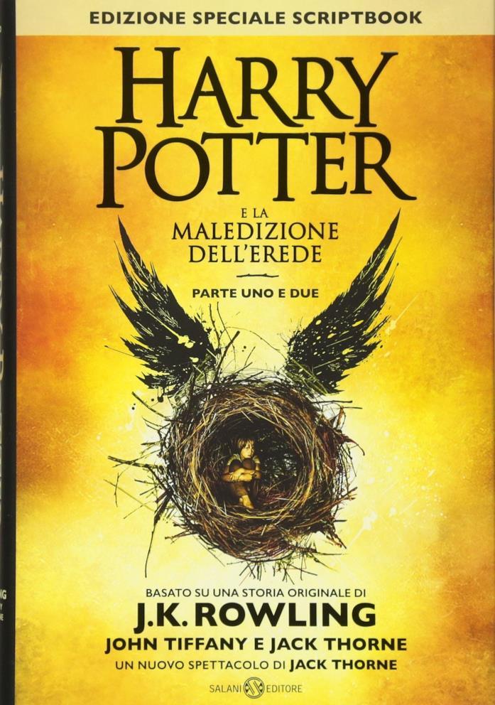 L'ottavo libro della saga letteraria di Harry Potter