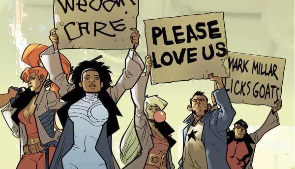 Dettaglio della cover di Nextwave: Agents of HATE #11