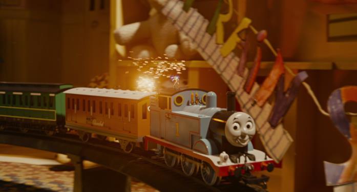 Il trenino Thomas in Ant-Man