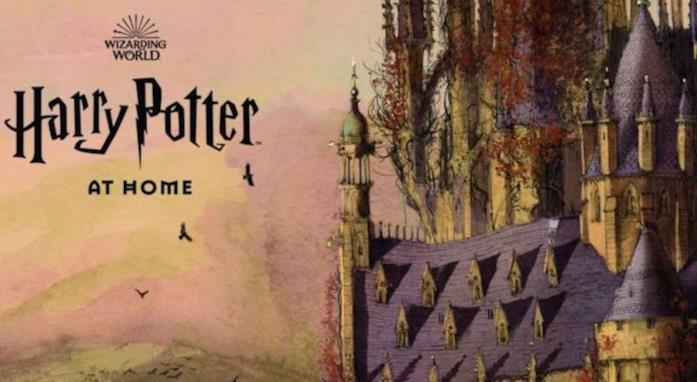 Harry Potter At Home: schermata iniziale