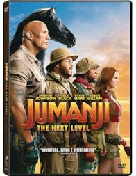 Jumanji: The Next Level  (DVD)