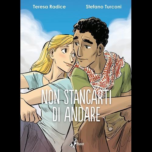 La cover del nuovo fumetto della coppia Radice e Turconi
