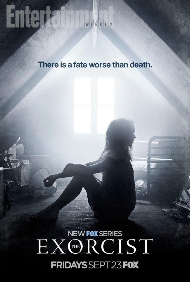 C'è un fato peggiore della morte, così recita la nuova immagine promozionale di The Exorcist