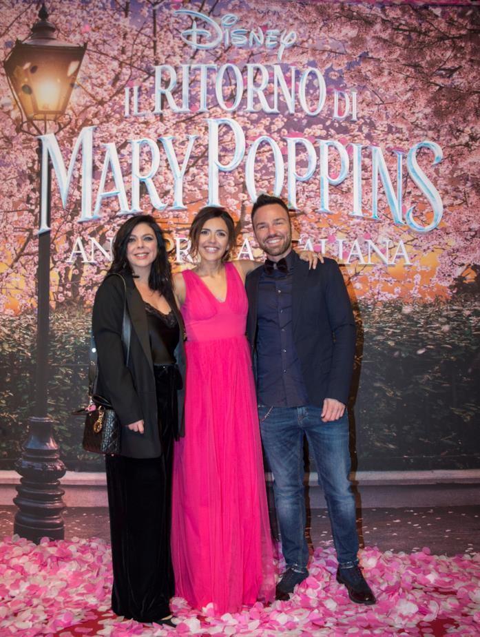 Il ritorno di Mary Poppins: Domitilla D'Amico, Serena Rossi e Renato Novara