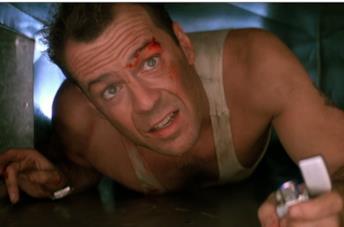 Die Hard e il protagonista Bruce Willis