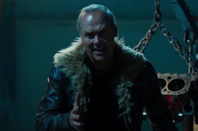 Un'immagine di Michael Keaton in Spider-Man: Homecoming