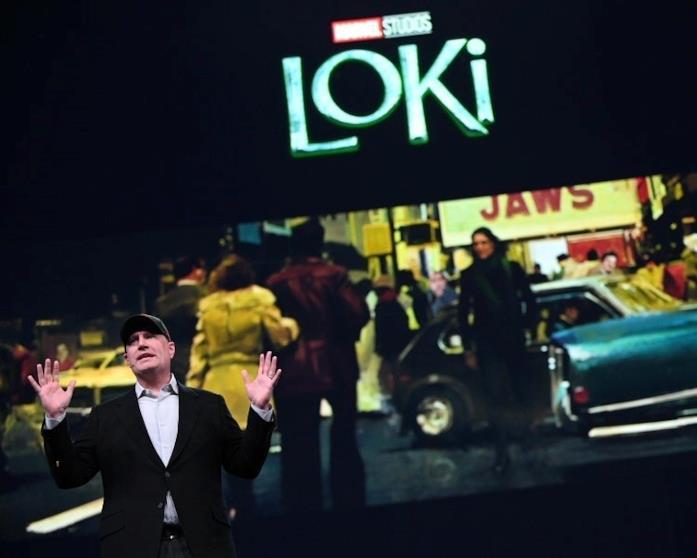 Kevin Feige presenta Loki