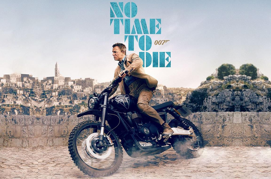 No Time To Die: il poster IMAX