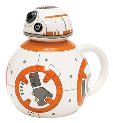 BB-8 Tazza con Coperchio in Scatola
