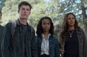 Alcuni dei protagonisti della quarta stagione di Tredici