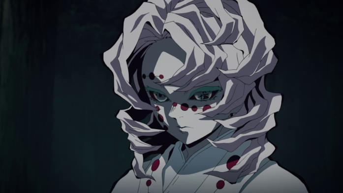 Rui, una delle lune calanti di Demon Slayer