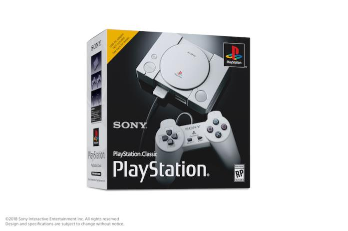PlayStation Classic costa 99,99 euro