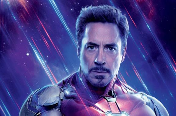 Un'immagine di Robert Downey Jr. come Iron Man
