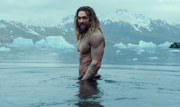 Una scena di Aquaman