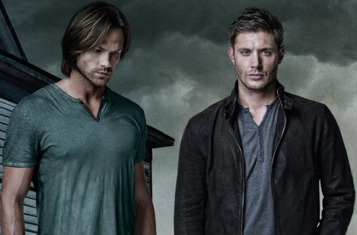 Primo piano di Jensen Ackles e Jared Padalecki