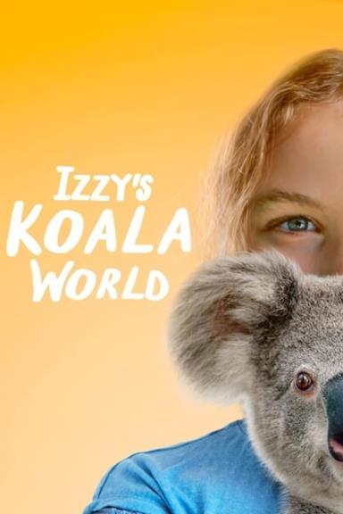Poster Izzy nel mondo dei koala
