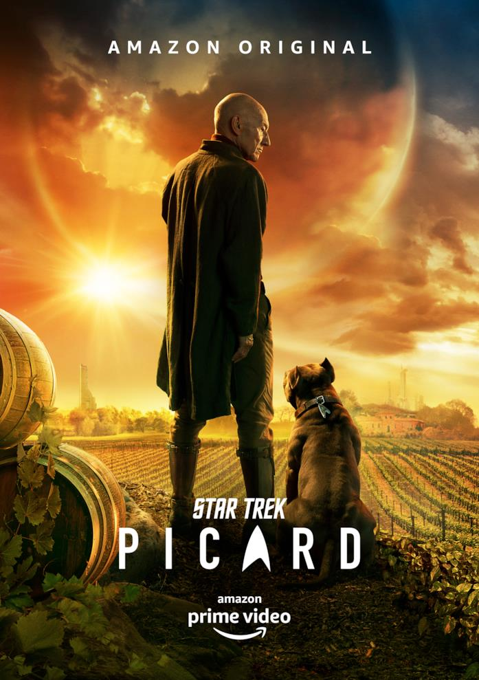 Il poster di Star Trek Picard