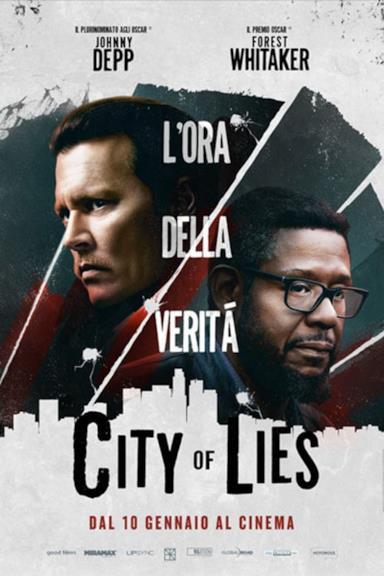 Poster City of lies - L'ora della verità