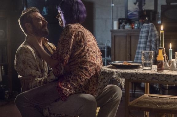 Negan e la moglie Lucille in The Walking Dead 10x22