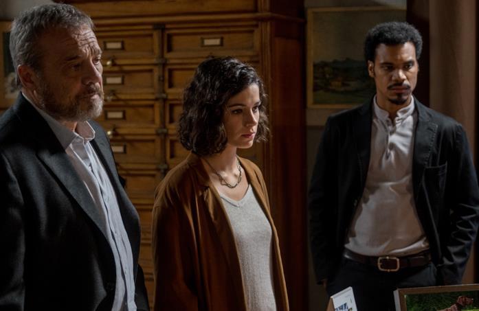 Alba tra il padre Carlo e Malik