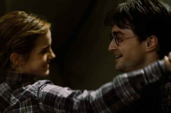 Hermione e Harry in Harry Potter
