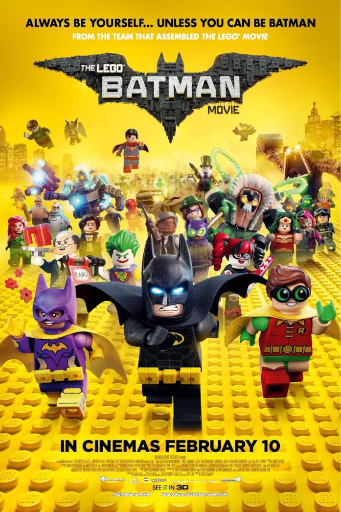 I personaggi di LEGO Batman - Il film