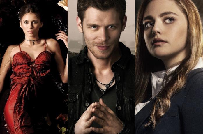 I protagonisti delle serie appartenenti all'universo di The Vampire Diaries