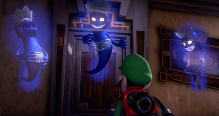 Luigi's mansion fantasmi