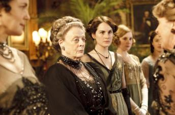 Il cast del film di Downton Abbey