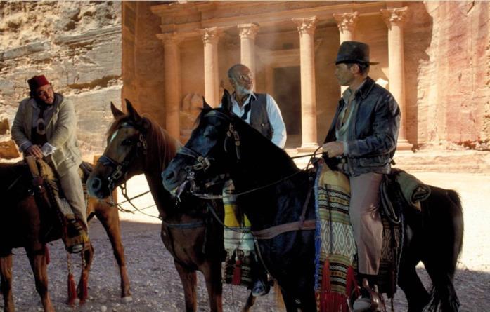 La scena finale di Indiana Jones e l'ultima crociata