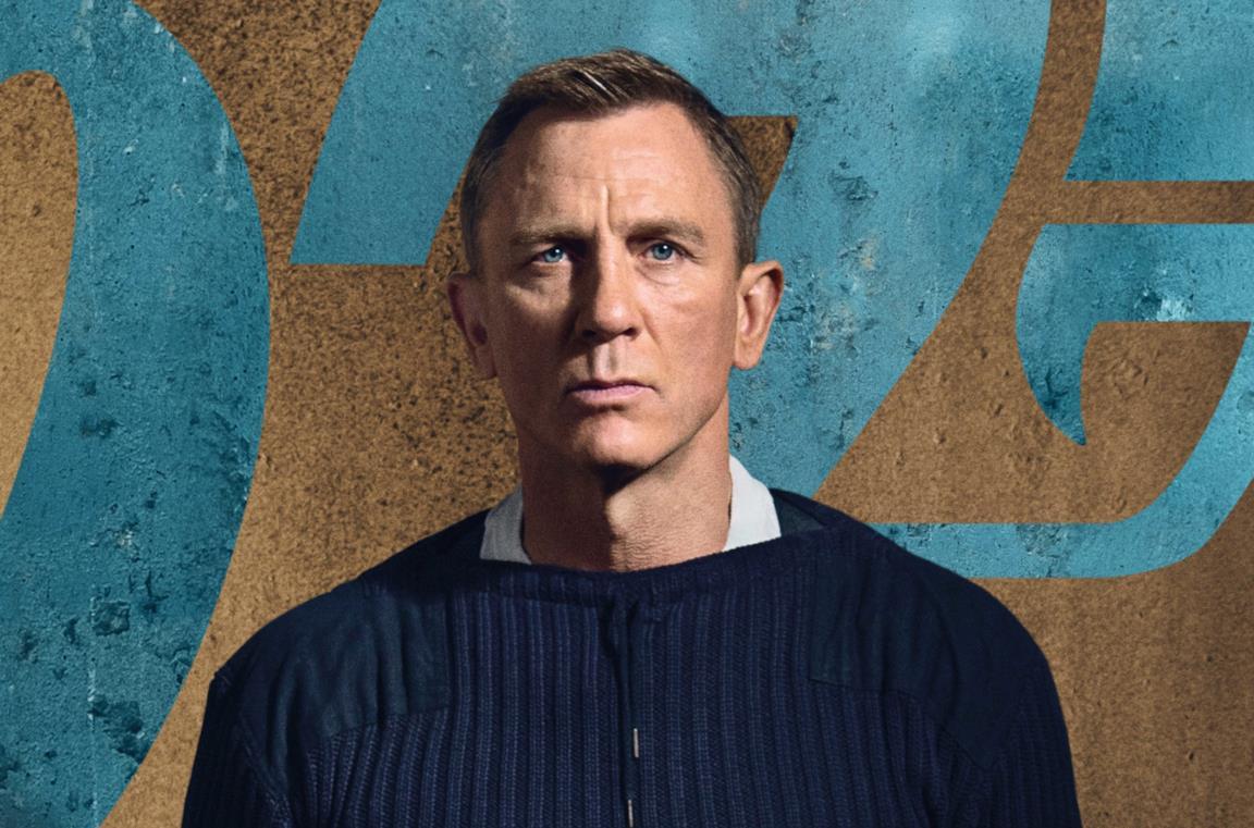 Un'immagine di Daniel Craig come James Bond