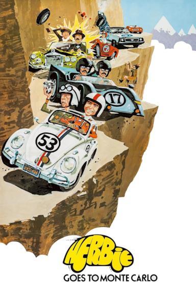Poster Herbie al rally di Montecarlo