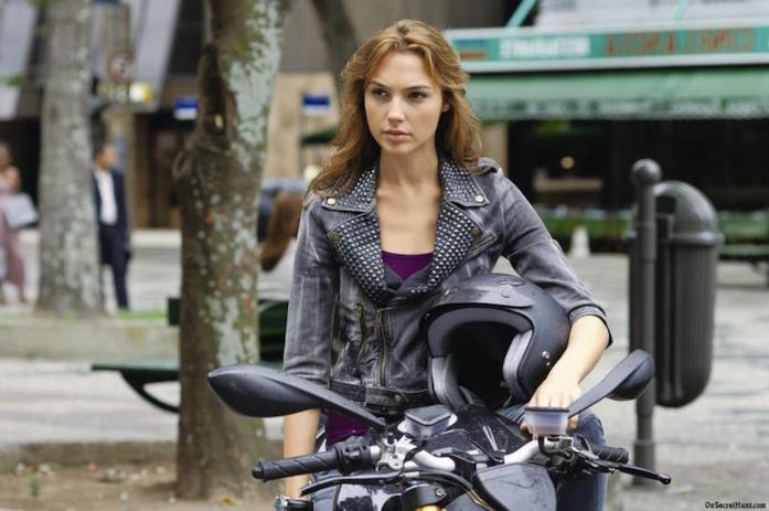 L'attrice Gal Gadot nella saga di Fast and Furious