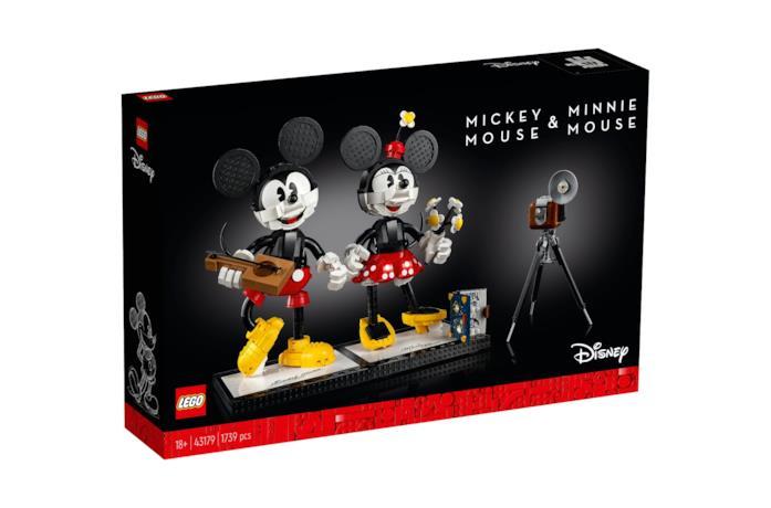 Topolino e Minnie versione LEGO
