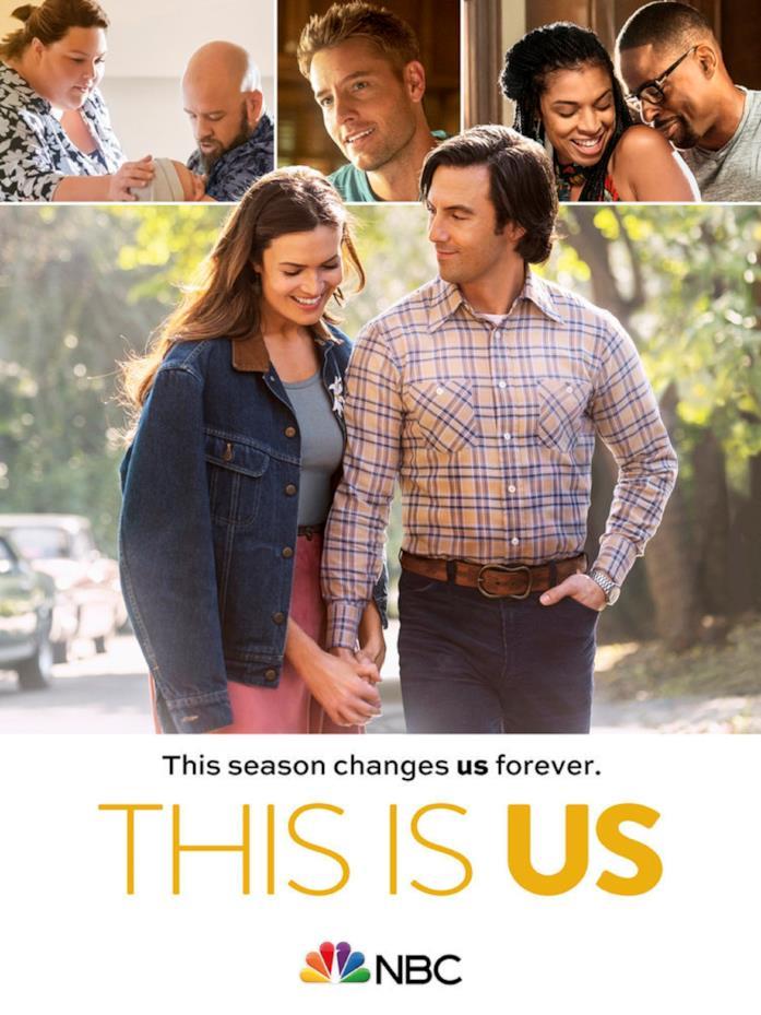 I protagonisti di This Is Us nella locandina della stagione 5