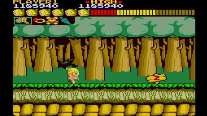 Il gioco Wonder Boy