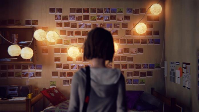 Max nella sua stanza nel primo Life is Strange