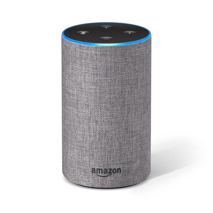 Amazon Echo (2ª generazione) - Altoparlante intelligente con integrazione Alexa - Tessuto grigio mélange