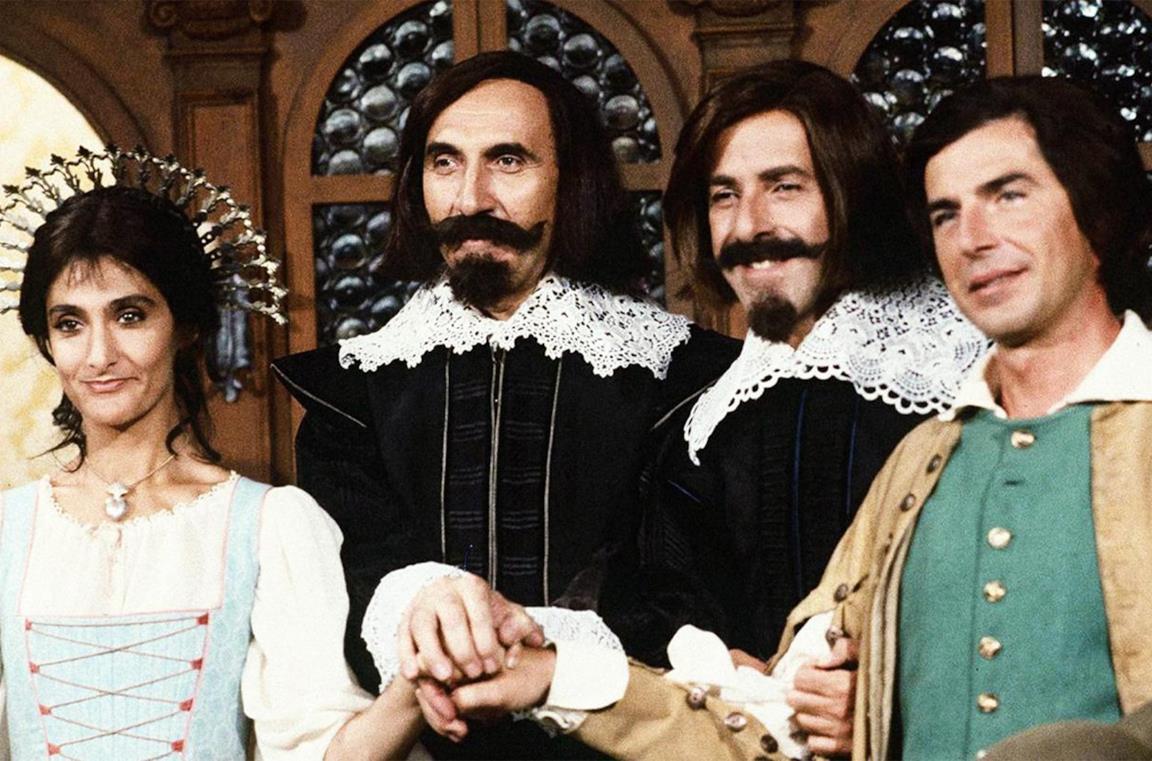 Un'immagine del Trio ne I Promessi Sposi