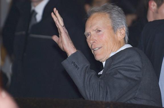 Clint Eastwood a un evento pubblico